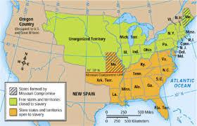 Map Missouri Missouri Compromise Essay Missouri Compromise Missouri Compromise