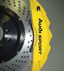 lexus yellow brake calipers product audi sport premium brake caliper decals stickers tt s3 s4