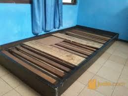Dipan Kayu Kalimantan dipan kasur kayu jati 90cm x 200cm surakarta jualo