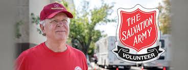 Salvation Army Volunteer Thanksgiving Volunteer