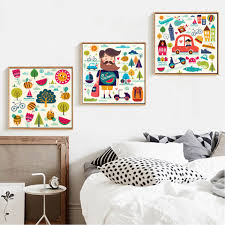 compare prices on cartoon paintings for kids online shopping buy