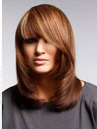 flip hairstyles for long face shape chic shag how to style use round brush for blow out it ll