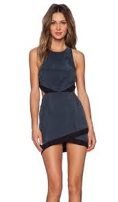 cool dresses nbd shades of cool dress in charcoal revolve