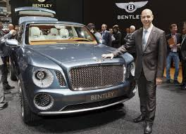 bentley suv bentley suv experimental concept to evolve for production