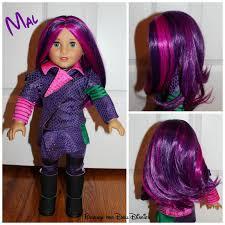 halloween doll wig american descendants dolls doll diaries