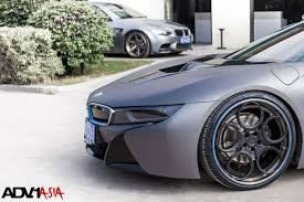 Bmw I8 3 Cylinder - i8 with adv 1 wheels installed