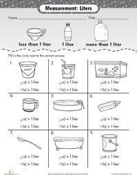 32 best volume u0026 capacity images on pinterest teaching ideas