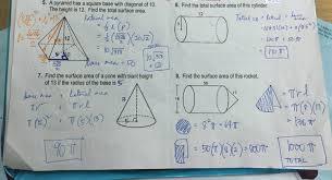 grade 11 surface area worksheet answer key u2013 ateneo high