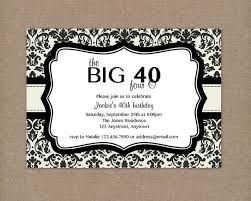 40th birthday invitation templates 28 images template 40th