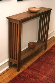 walnut hall table 750 handcrafted and can be customized to your