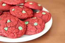 red velvet chocolate chip cookies kirbie u0027s cravings