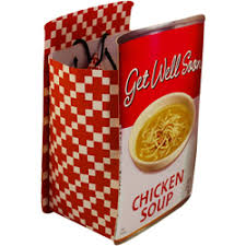get well soon soup get well soon chicken soup gift bag tote