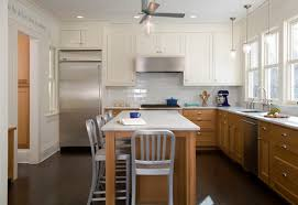 Two Color Kitchen Cabinets 2 Toned Kitchens Trendy Too Much For Small Spaces