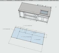 kitchen island width kitchen island dimensions mydts520