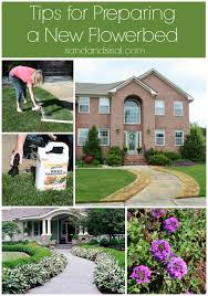 tips for preparing a new flower bed sand and sisal