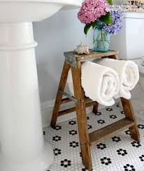 Ladder Shelf For Bathroom Useful Bathroom Towel Storage Ideas That You Will Love