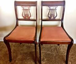 Lyre Back Chairs Ebay