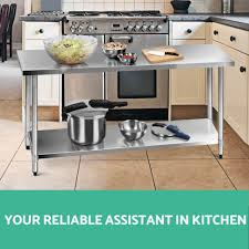 stainless steel kitchen work table island kitchen awesome small kitchen island portable kitchen island