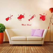 online buy wholesale musical instrument wall decals from china cool