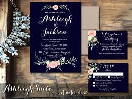 navy wedding invitations navy blue wedding invitations marialonghi