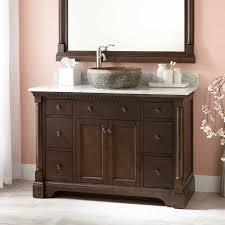 48 montara teak vessel sink vanity teak bathroom
