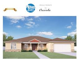 Florida Bungalow House Plans Tampa U0027s On Your Lot Builder Floor Plans All State Homes Inc