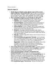 Anatomy And Physiology Midterm Exam Exam2studyguide Biol 1344 Human Anatomy Physiology Midterm Exam