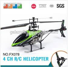 best 4ch helicopter best selling fx078 44cm 2 4g 4ch single blade rc helicopter