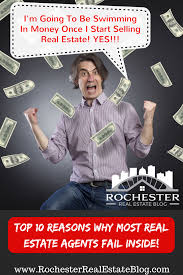 top 10 reasons why most real estate agents fail