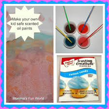 momma u0027s fun world make your own kid safe scented oil paint