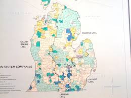 map of michigan mi maps