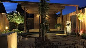 Garden Patio Lighting by How To Choose And Install Landscape Lighting Certified Lighting Com