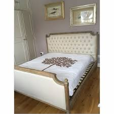 bed frames wallpaper high resolution upholstered french bed
