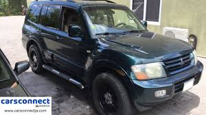 sold 2002 mitsubishi montero sport 785k neg cars connect jamaica