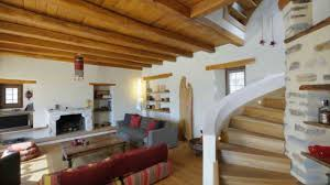 Greek Home Interiors by Stone House At Vizitsa Pelion Greece Youtube