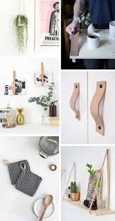 friday inspiration pretty diy leather strap interior ideas