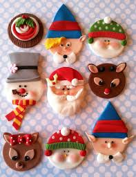 Christmas Cake Decorations Rudolph by 360 Best Fondant Everything Christmas Images On Pinterest Xmas