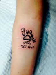 dog print tattoos 4 best tattoos ever