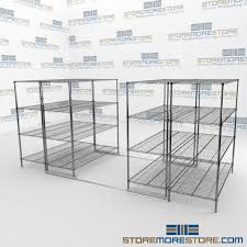 Commercial Wire Shelving by Wire Storage Shelves On Rails Wire Racking Commercial Wire