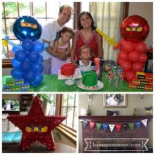ninjago party supplies 7 ninjago party ideas with free printables in nyc