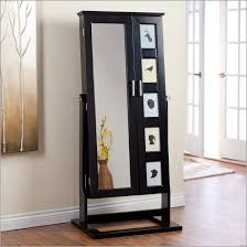 cheval jewelry armoire tall stainless steel laminate flooring door standing mirror
