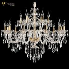 Cheap Crystal Chandeliers For Sale Aliexpress Com Buy Luxury Crystal Chandelier For Living Room