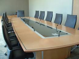 Cool Meeting Table 5 Ridiculously Cool Conference Table Features