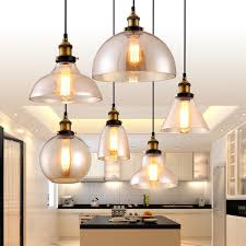 Antique Pendant Lights Hangl Pendant L Copper Glass Restaurant Pendant Lights