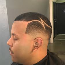 bald fade low fade w part design by zay the barber youtube