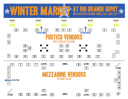 Utah Trax Map by Downtown Salt Lake City Farmers Market Winter Market At Rio Grande