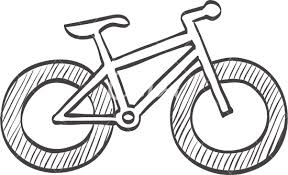 sketch icon of fat tire bicycle icons by canva