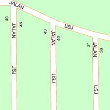 map usj 1 map of 29 jalan usj 1 24 47500