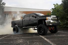 Classic Chevrolet Lifted Trucks - say hello to the black pearl a duramax 3500 hd truck syndicate
