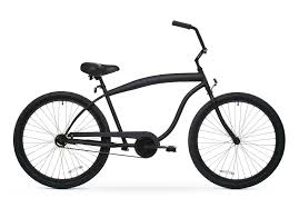 Most Comfortable Beach Cruiser Seat Men U0027s Single Speed Matte Black Beach Cruiser Bicycle 1sp Black
